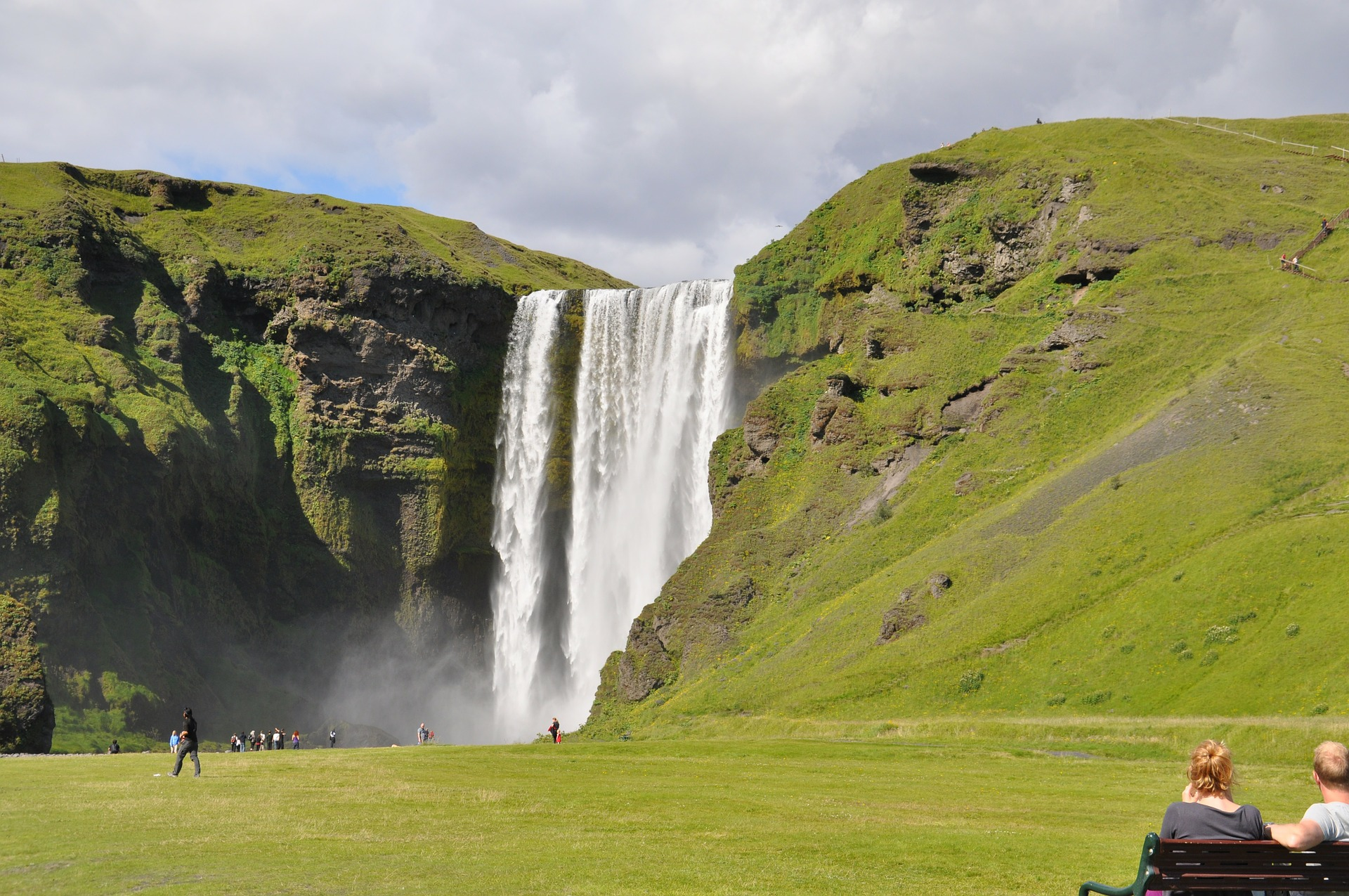 South coast of Iceland Skógafoss