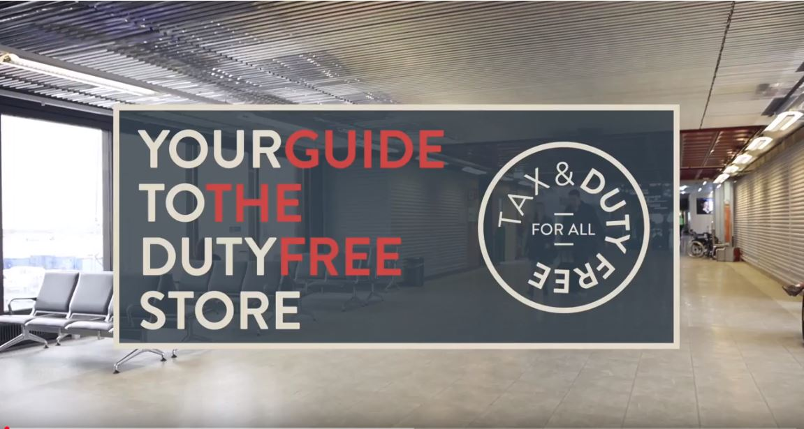 Duty free arrival store guide
